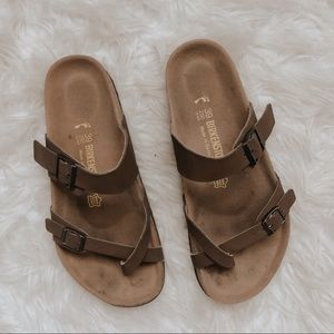 Birkenstocks Brown Mayari Strappy Sandal